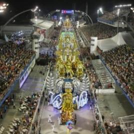 foto referênte a Desfile das escolas de Samba Grupo Especial São Paulo