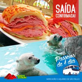foto referênte a Aquário de São Paulo e Mercadão